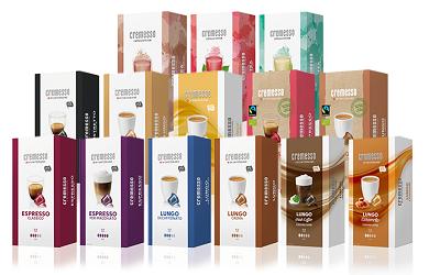 Kaffee/Tee für Cremesso